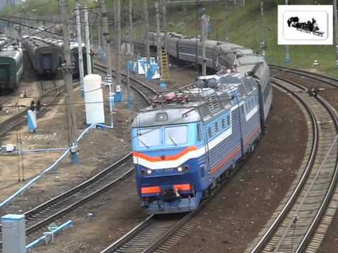 На Киевском направлении МЖД (2007 год)