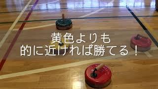 ドーレくん20のチャレンジ「フロアカーリングに挑戦!」編