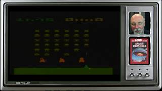 The 44th game a day game is Space Invaders on the Atari 2600