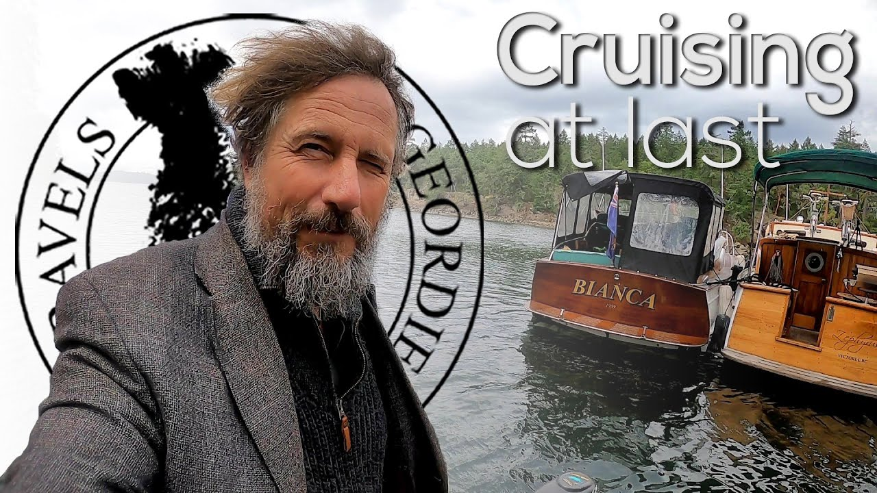 Cruising at last - Boat Life - Living aboard a wooden boat - Travels With Geordie #180