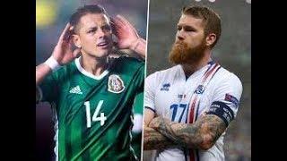 MEXICO VS ISLANDIA AMISTOSO 2018