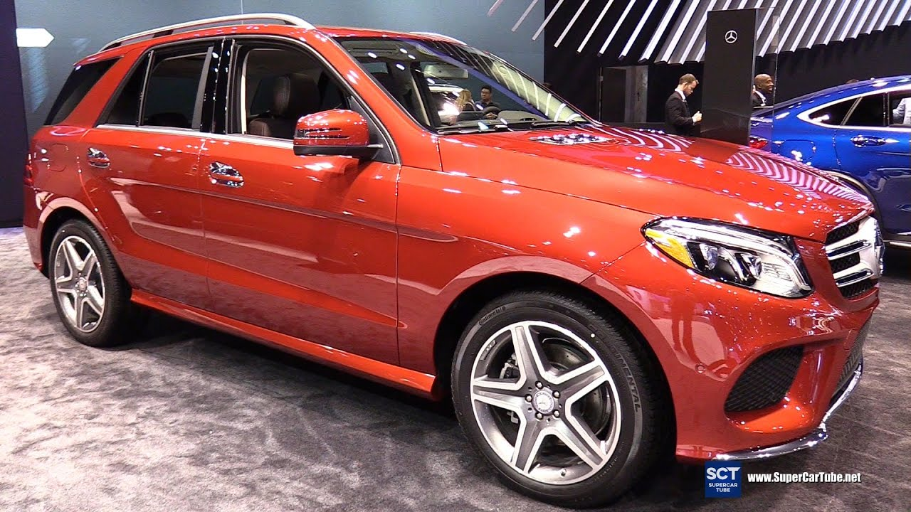 2017 Mercedes Benz Gle Cl 350 4matic Exterior Interior Walkaround Chicago Auto Show