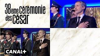 Omar Sy & Antoine de Caunes - Sketch aux César 2013