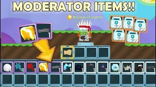 GrowTopia   Buying All Moderator Items on GrowTopia!! (PUBLIC LAVA!!) OMG!!