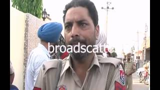 Punjab Poll Violence: AAP Patiala Candidate DharamvirAttacked