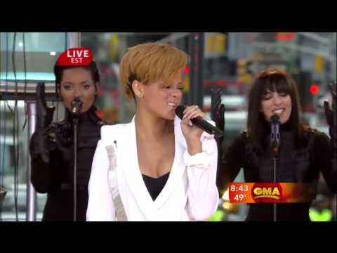 Rihanna - Wait Your Turn & Russian Roulette (GMA 2009)