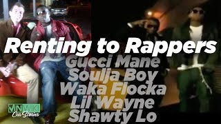 Renting Lamborghinis to Lil Wayne, Soulja Boy, Waka Flocka,  & Gucci Mane