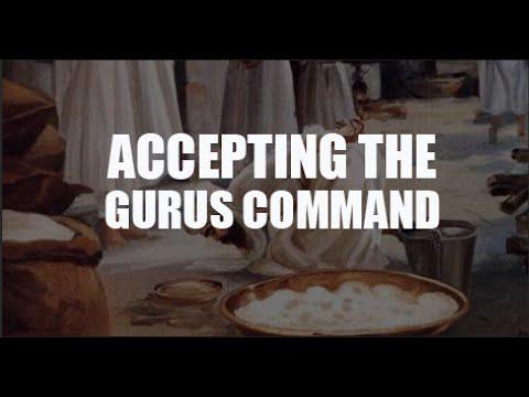 Punjabi / English Katha - Following the Guru's Hukam