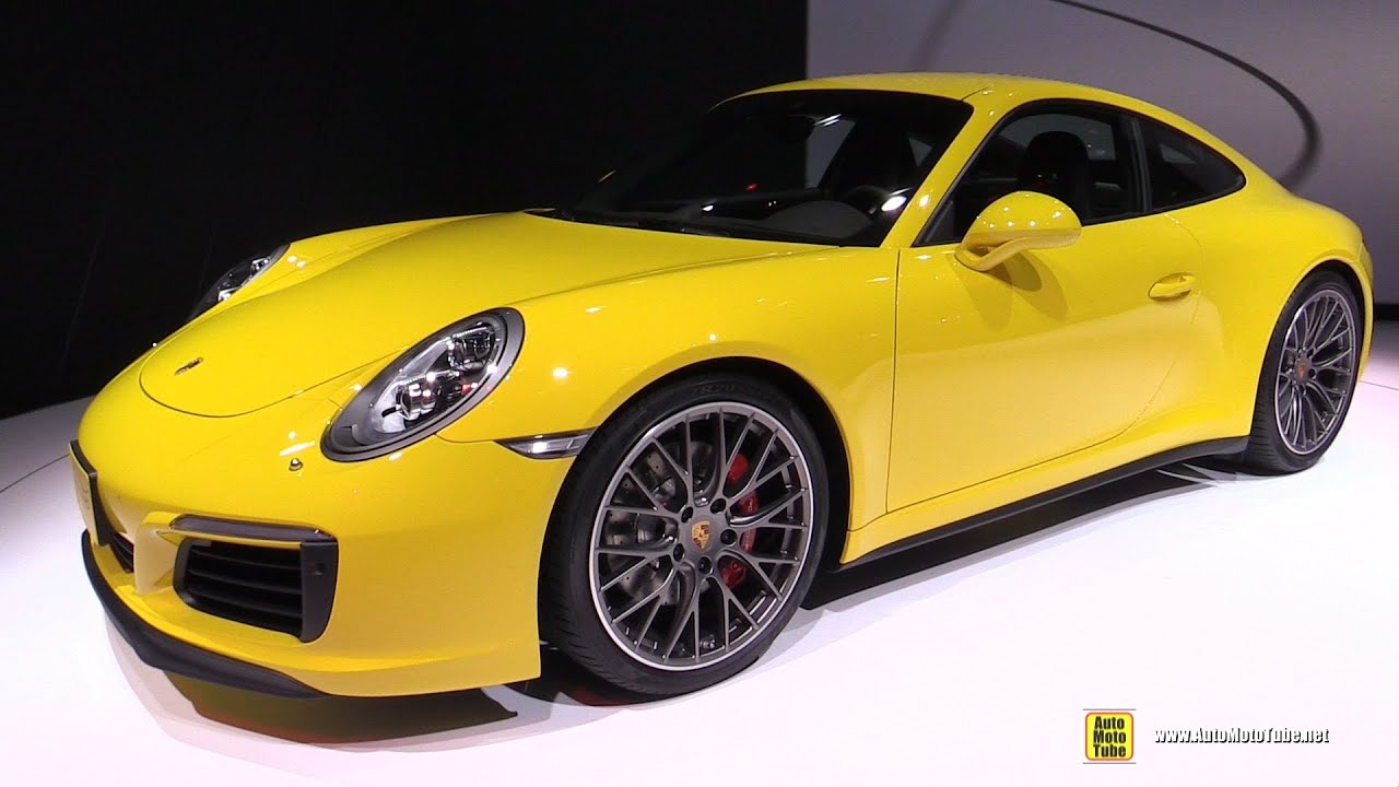 2016 porsche 911 carrera 4s exterior and interior walkaround debut at 2015 tokyo motor show. Black Bedroom Furniture Sets. Home Design Ideas