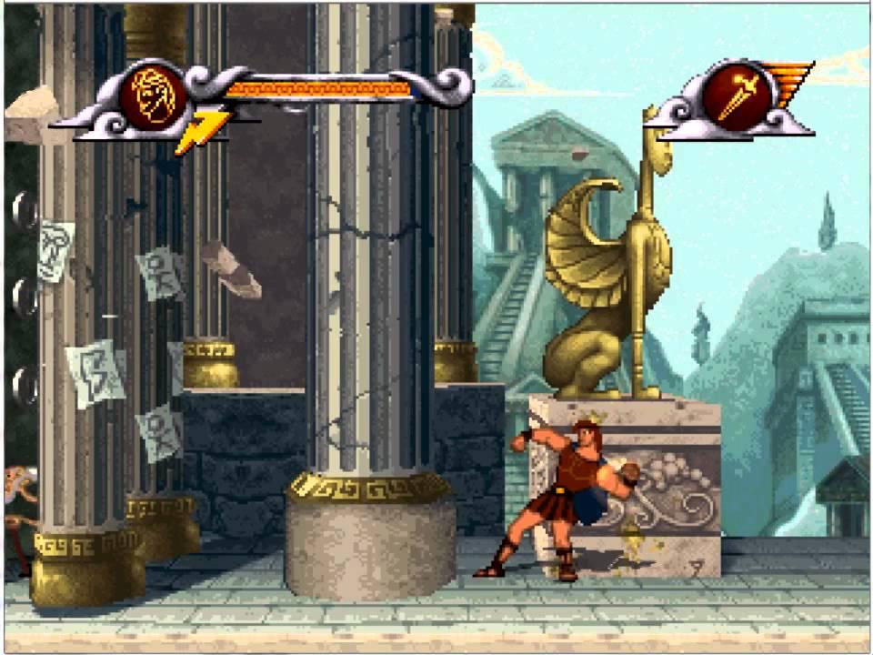 disney hercules action game longplay pc game