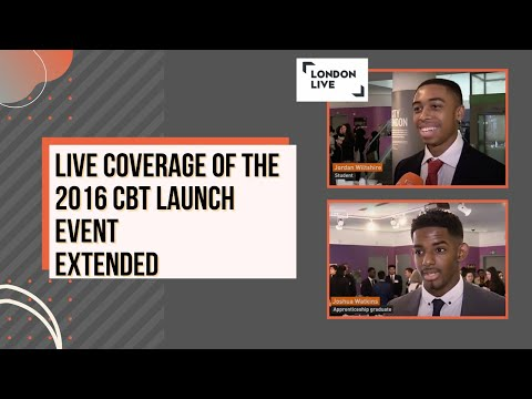 Live coverage of the 2016 CBT Launch event (extended)