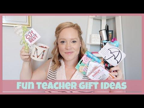 TEACHER GIFT IDEAS | EASY AND SIMPLE
