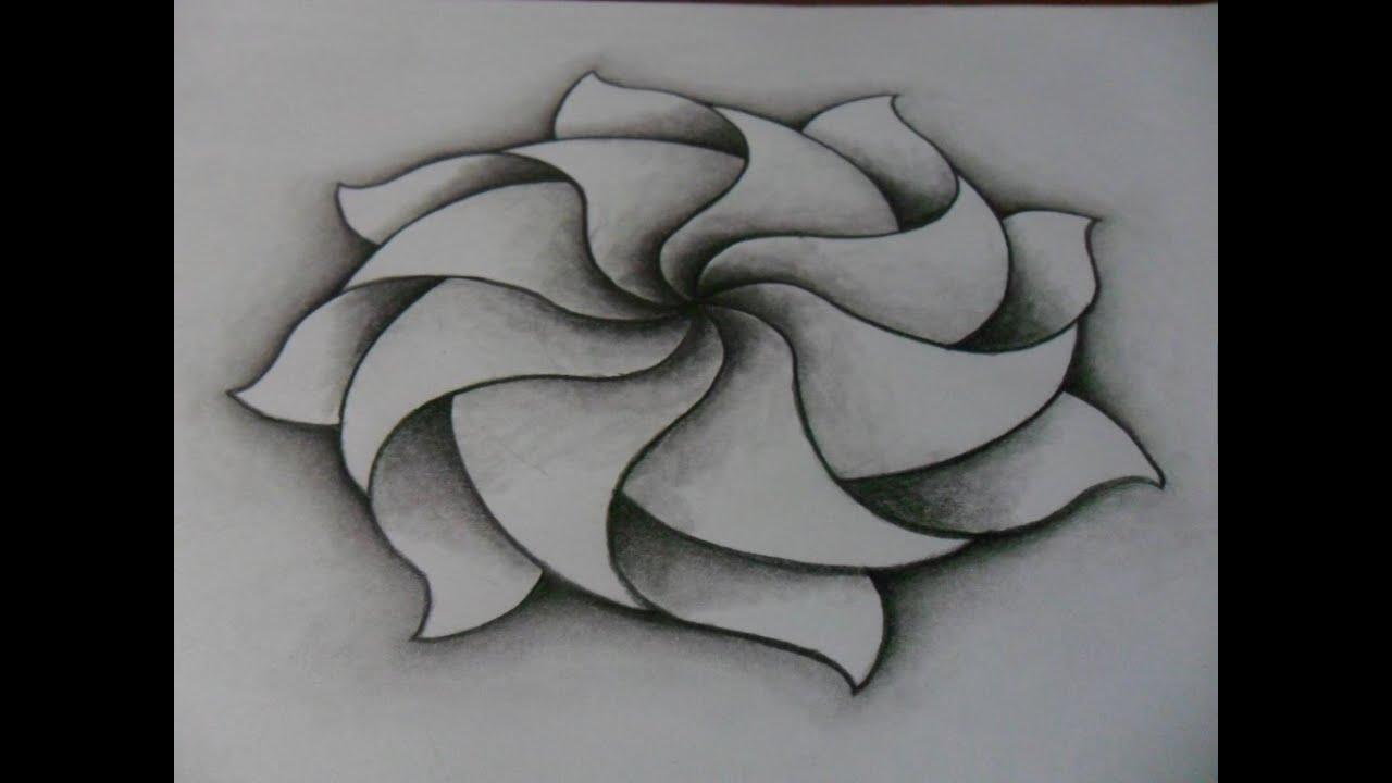 Dibujo Creatividad Formas Y Efectos Dibujo De Mandala Lápiz Difuminador Como Dibujar Muy Fácil Youtube