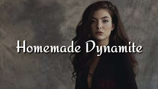 Lorde - Homemade Dynamite (Feat. Khalid, Post Malone & SZA) [REMIX] (Lyrics)