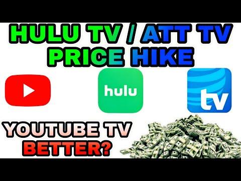 hulu+live-tv-and-att-tv-now-price-hike-(youtube-tv-a-better-alternative?)
