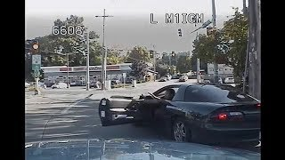 Police Chase Camaro Wanted For Shooting Out Of Vehicle