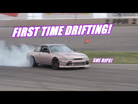We Take The S14 Drifting For The FIRST TIME!