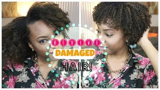 Hair Tutorial: How to Repair Dry, Frizzy, Damaged Hair