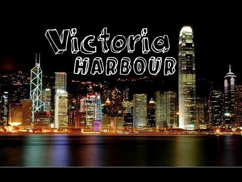 Victoria Harbor Timelapse Hong Kong HD