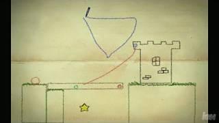 Crayon Physics Deluxe PC Games Gameplay - Bridge