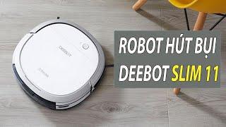 Review Robot Hút Bụi Lau Nhà DEEBOT SLIM 11 BQT - JOLAVN