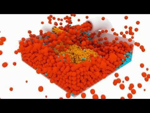 Blender Molecular 4K Render Test - High Quality Encoding