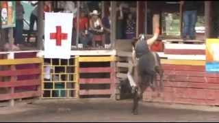 En El Bramadero - monta de toros - 3 - el sombrerito