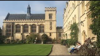 MY FIRST WEEK AT OXFORD UNIVERSITY