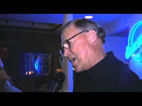 Mel Stottlemyre discusses doc and mets staff in 1986 at re-union party