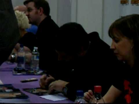 Greg Grunberg And Brea Grant At London Expo