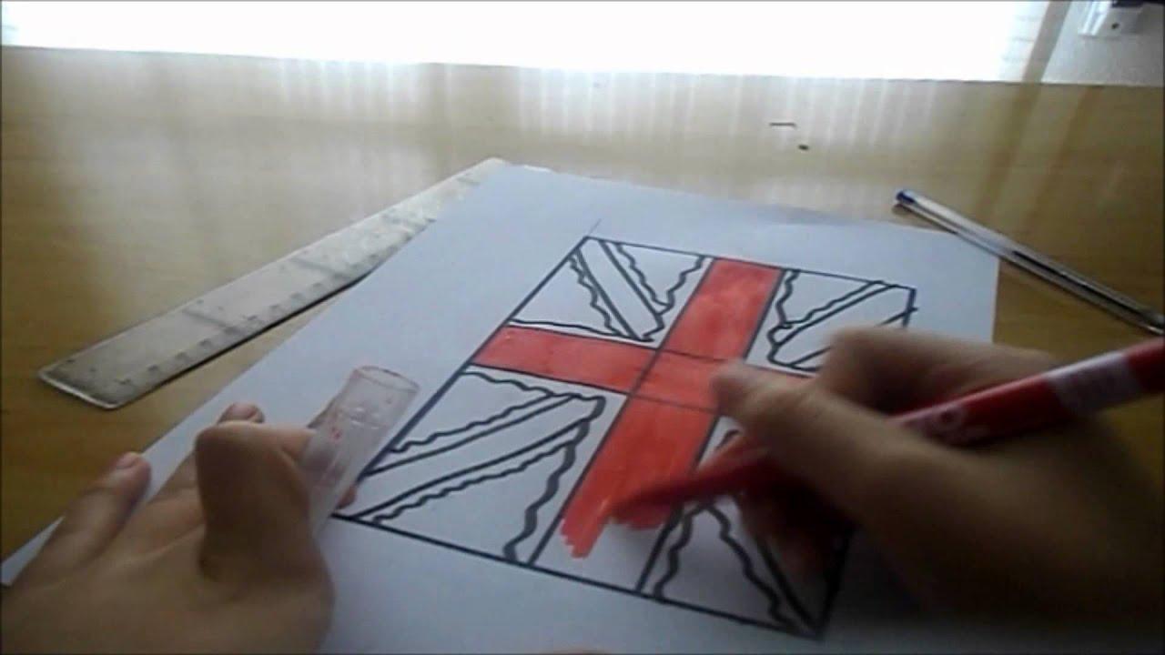 Tutorial bandera británica :) - YouTube