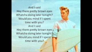 Cody Simpson - Pretty Brown Eyes (Lyrics)