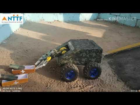 NTTF (DTC ) TERRANAUT ROBOTIC EVENT 2K19 IN BVB HUBLI
