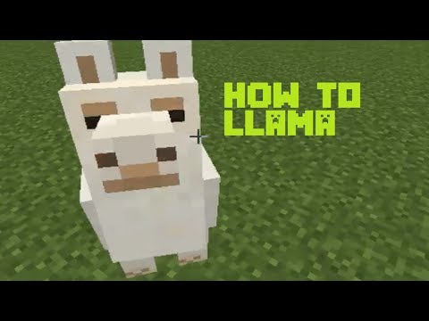 how-to-llama-in-minecraft-1.12-and-1.12.2-(how-to-ride-a-llama)