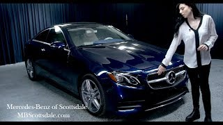 Walkaround - 2018 Mercedes-Benz E-Class E400 Coupe From Mercedes Benz Of Scottsdale