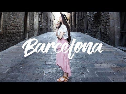 BARCELONA, SPAIN 2017 | Travel Vlog | Rapunzille