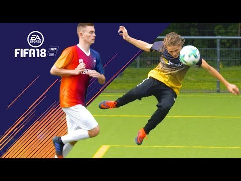 FIFA 18 Goals in REAL-LIFE - Dramatic Moments