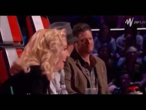 Blake SHelton at Gwen Stefani DON'T SPEAK
