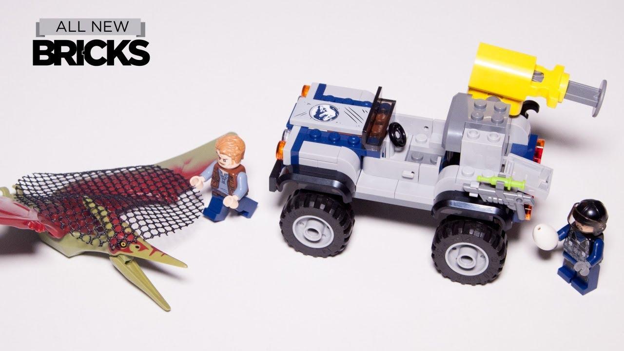 Lego Jurassic World 75926 Pteranodon Chase Lego Speed Build