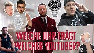 Welche Uhr trägt welcher Youtuber? Inscope21, Tim Gabel, Justin, Kevin Wolter und Montanablack
