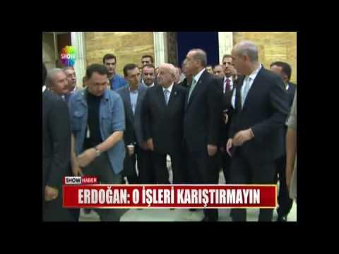 Erdoğan: O işleri karıştırmayın.