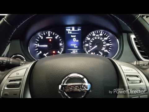 Nissan Qashqai oil service light reset 2014 (Diesel)