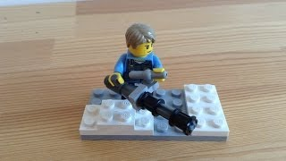 How to make a LEGO minigun