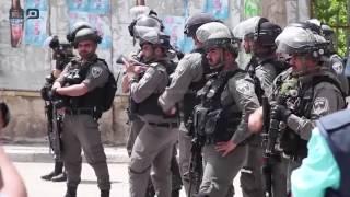 مصر العربية | إصابة عشرات الفلسطينيين في مواجهات متفرقة مع الجيش الإسرائيلي في الضفة