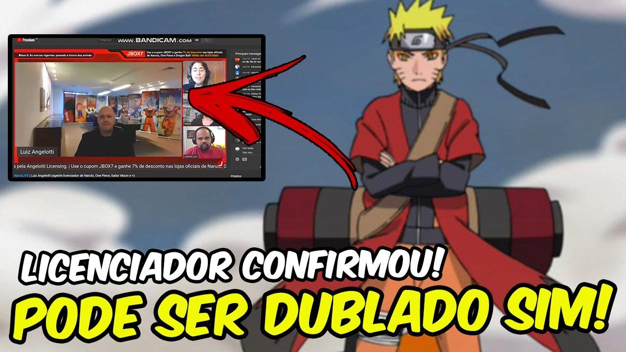 CONFIRMADO! Naruto Shippuden PODE SIM SER DUBLADO! LICENCIADOR CONFIRMOU! CHUPA Haters!