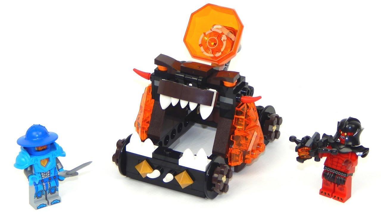 Lego Nexo Knights 70311 Chaos Catapult Lego Speed Build Youtube