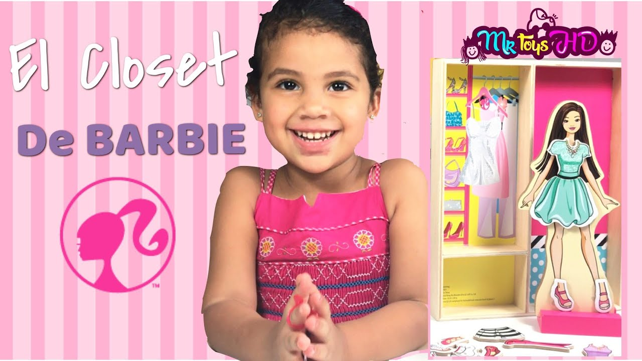 Barbie Life In The Dreamhouse Armario De Princesa : Barbie armario simple y ken bonito para
