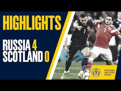 HIGHLIGHTS   Russia 4-0 Scotland