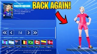FORTNITE Item Shop SOCCER SKINS ARE BACK AGAIN...! (JULY 9th, 2019) Fortnite Battle Royale