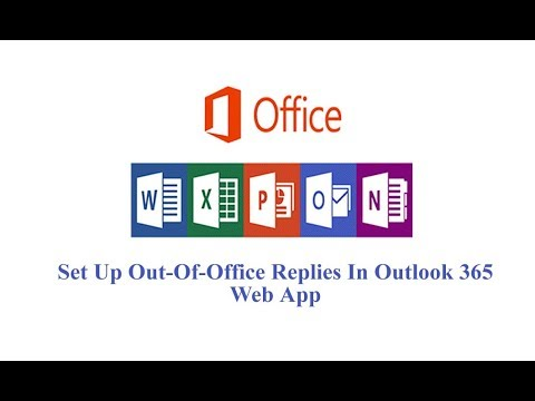 Set Up Out-Of-Office Replies In Outlook 365 Web App